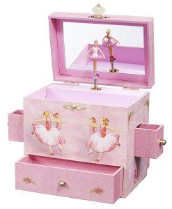 Enchantments Ballerina Musical Ornament Box