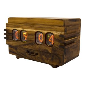 The Unique Nixie Vacuum Tube Retro-styled Alarm Clock