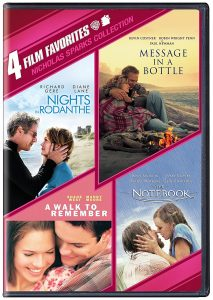 A DVD collection of Nicholas Sparks Movies
