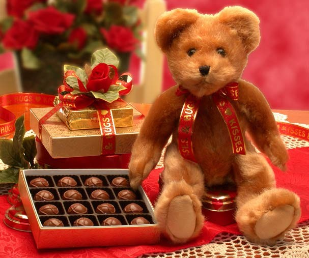 Chocolates and Teddies