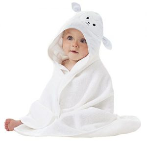 Lucylla Organic Hooded Towel for Babies