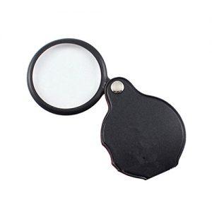 Pocket Folding Glass Magnifier