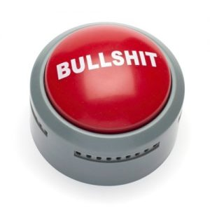 The Official Bull Shit Button