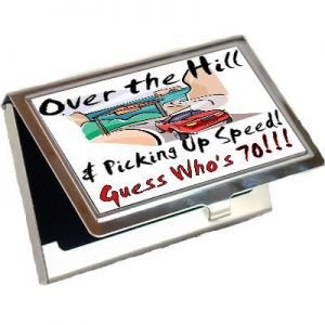 Customized Business Card Holder