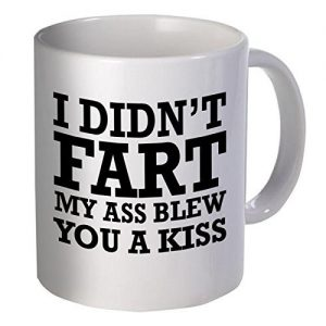 Coffee Mug with Quirky Quote