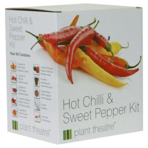Hot Chilly & Sweet Pepper Planting Kit