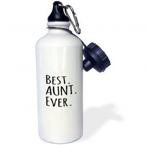 Best Aunt Ever Sports Water Bottle