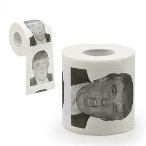 Trump Novelty Toilet Paper