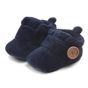 Fleece Warm Booties for Newborn Babies