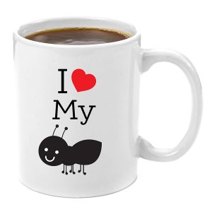 I Love My Ant Aunt Coffee Mug