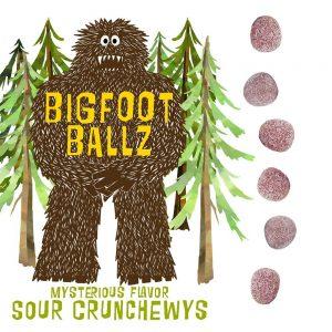 Big Foot Balls Sour Candy