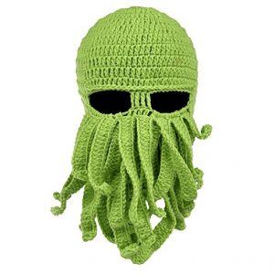 Octopus Beanie and Knitted Face Warmer