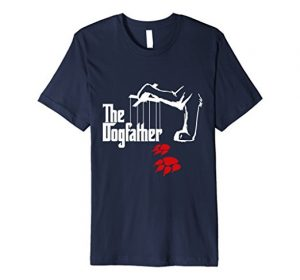 The Dogfather Funny T-shirt