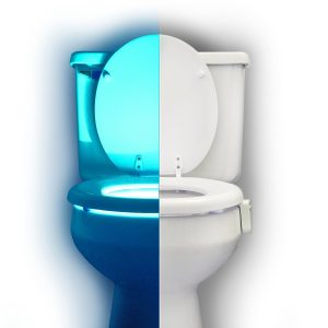 Rainbow Motion Sensor Toilet GlowLight