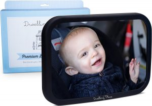 Shatter Proof Back Seat Mirror