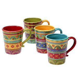 Tunisian Mugs Gift Set