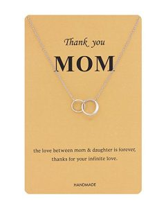 Elegant Love You Mom Necklace
