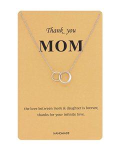 Elegant Love You Mom Necklace