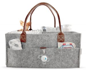 Lilly Miles Diaper Caddy for Babies