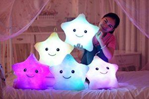 Luminous plush pillow