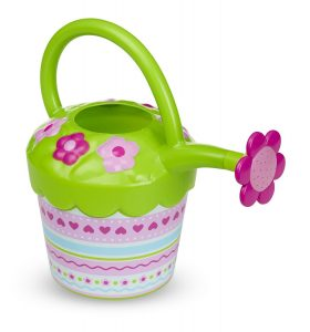 Flower watering can toy