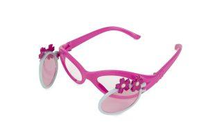 Flip open tinted glasses
