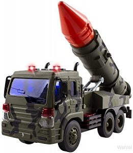 Fighter military truck toy