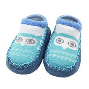 Anti-slid solid warm slippers