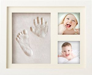 Newborn hand and footprint frame