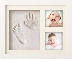 Newborn hand and footprint frame