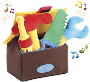 Plush tool play set