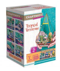 Tropical terrarium gift