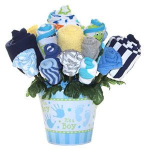 Baby clothes bouquet