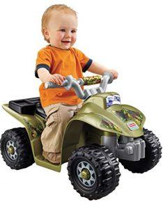 Lil' boy's ATV