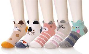 3D animal crew socks