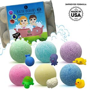 Bath bombs with a surprise