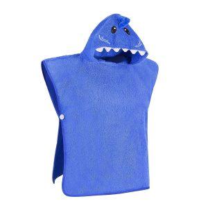 Hooded shark towel