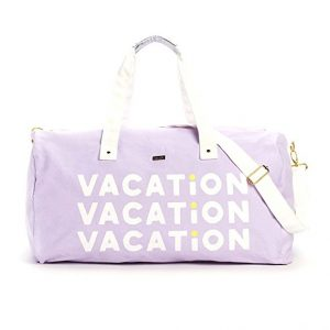 Vacation duffle bag