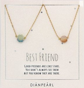 BFF gemstone necklace