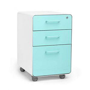 Rolling storage drawer