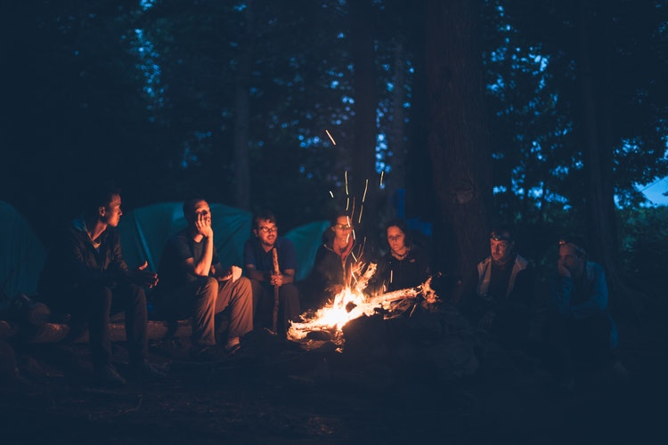 Camping Parties Outside