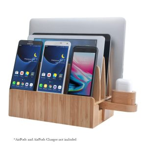 Desk organizer and charging