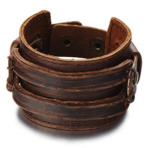 Genuine Leather Wristband