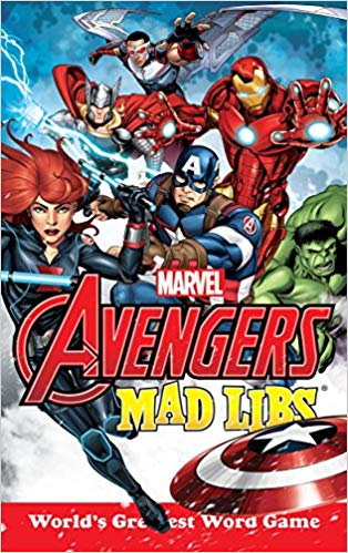 The Avengers Mad Libs book