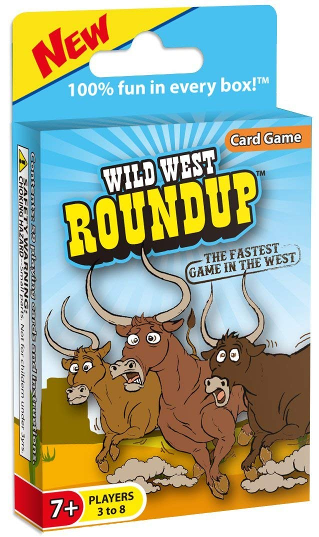 The wild west roundup card game