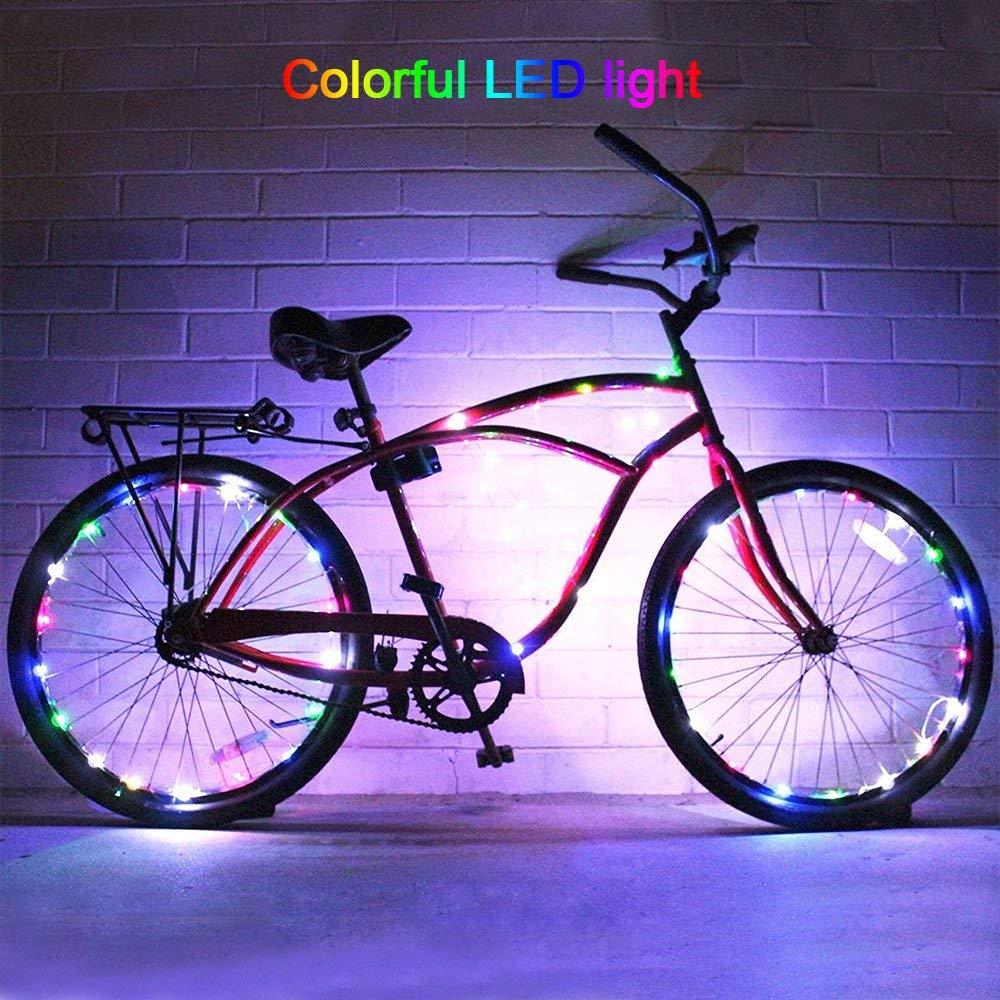 The DIMY bike wheel lights