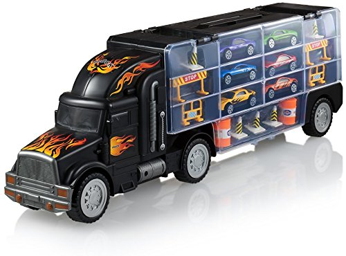 The toy truck transport carrier
