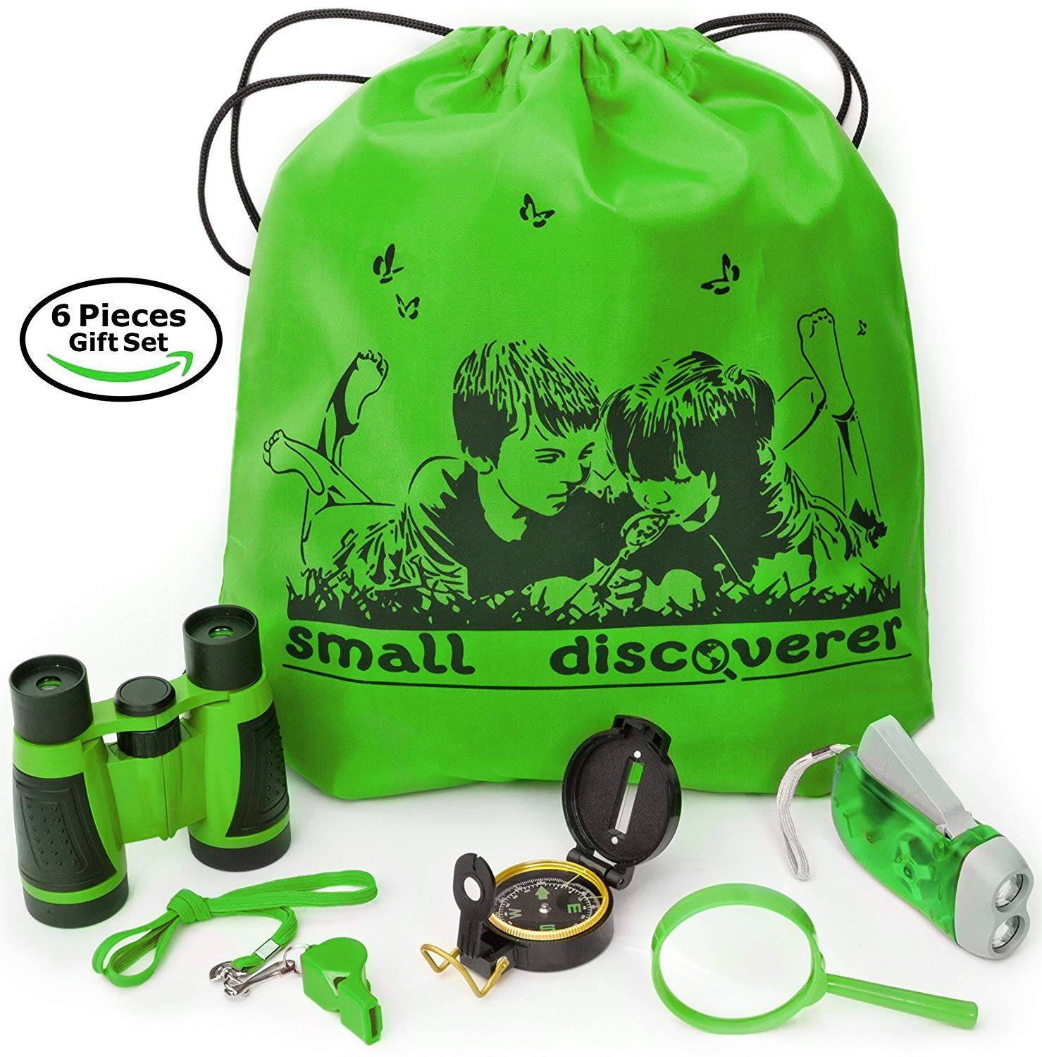 An outdoor exploration set