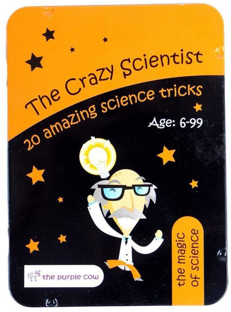 The crazy scientist card set