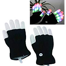 The luwint LED flashing finger gloves